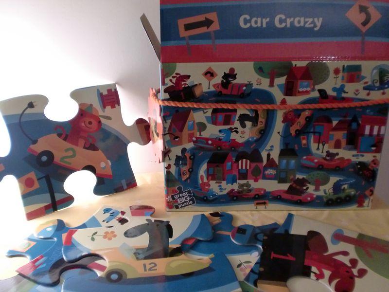 Bertoy voitures puzzle gros