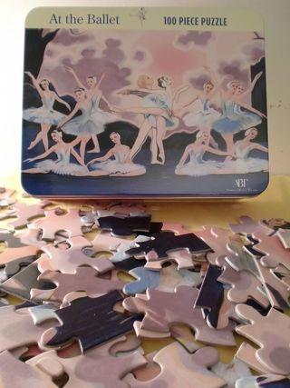 Bertoy ballerines puzzle