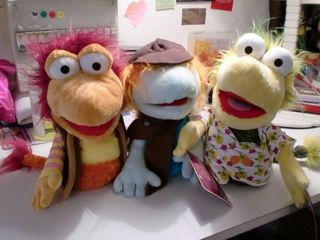 Fraggle marionnettes