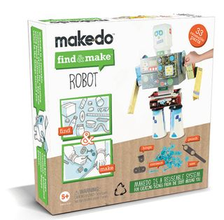 Makedo pack robot