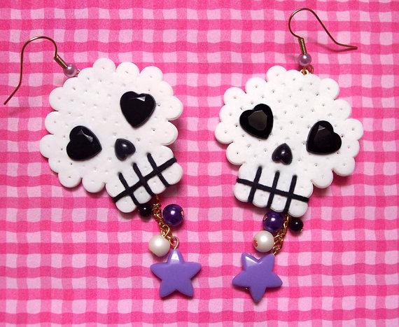 Asp earings skulls
